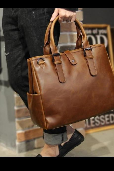 Briefcase Pu leather bags